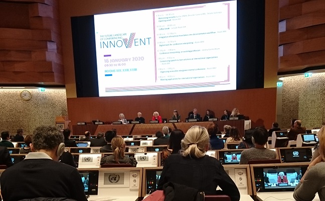 The InnoVent Conference in Geneva