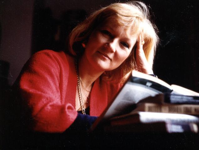 Photograph of Griselda Pollock in the 1980s.