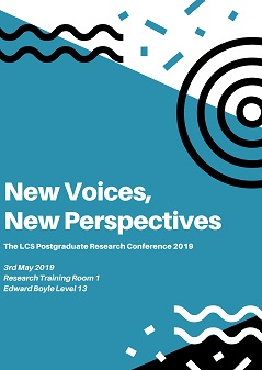 A thumbnail of the PGR 2019 conference poster