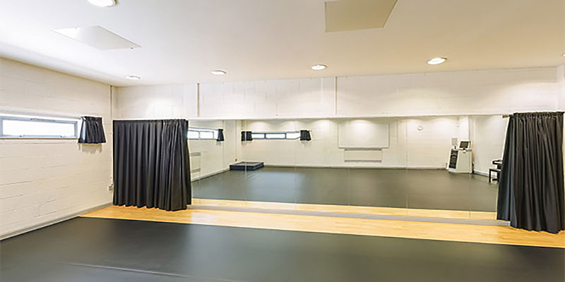 Dance studio space