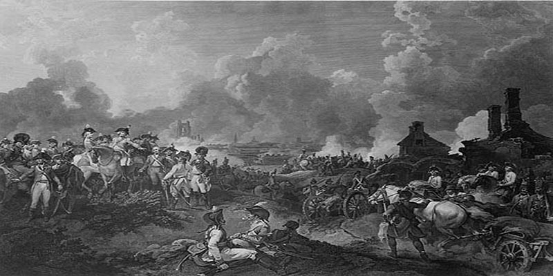 British representations of the battle of valenciennes.
