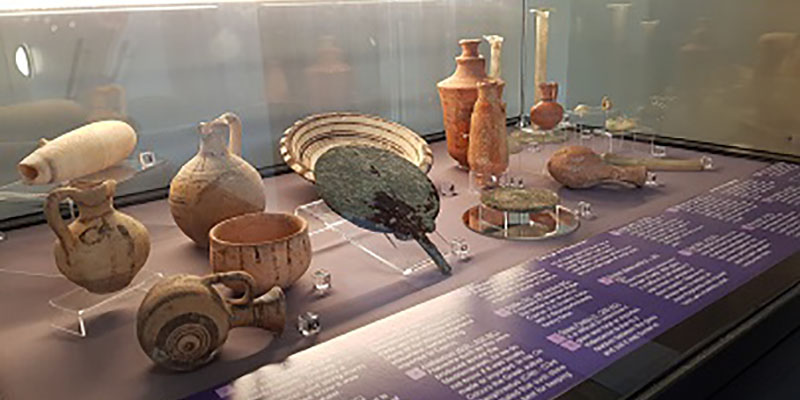 Ancient Cypriot collection display launched