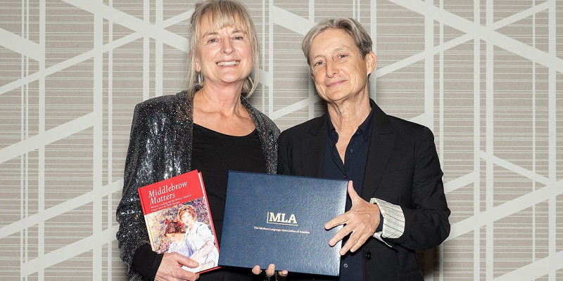 Professor Diana Holmes presented with Modern Language Association prize at award ceremony in Seattle, Washington