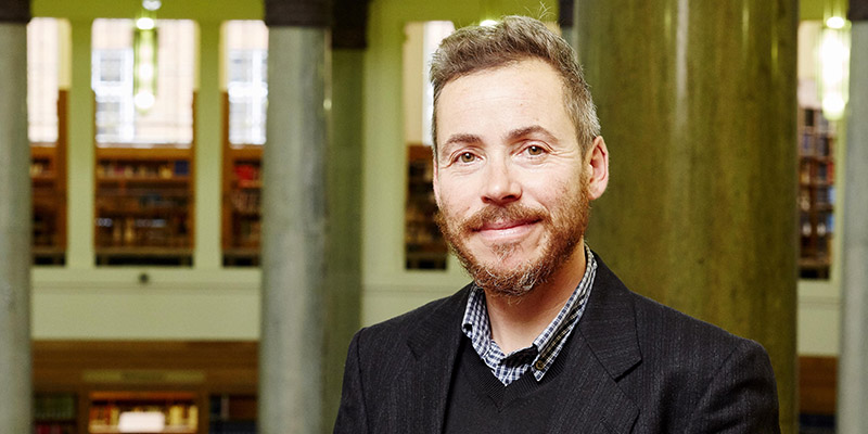 Dr Jay Prosser shortlisted for Tony Lothian Prize