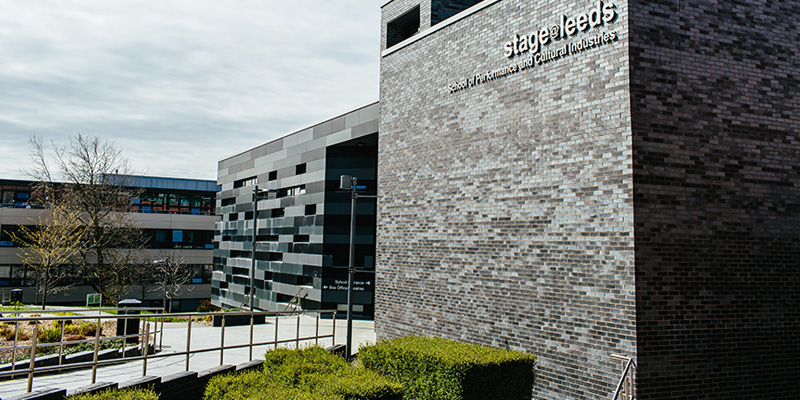 The exterior of stage@leeds building.