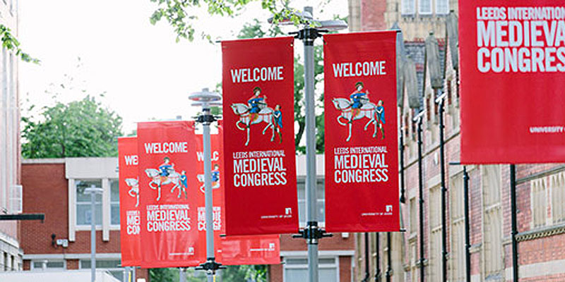International medieval congress banners