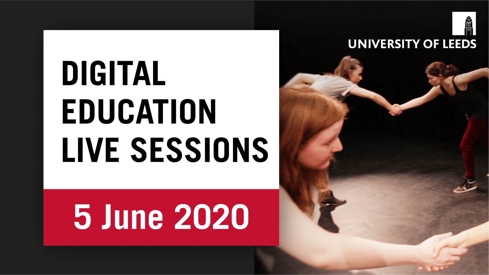 Digital Education Live Sessions: Teaching Theatre Skills Online