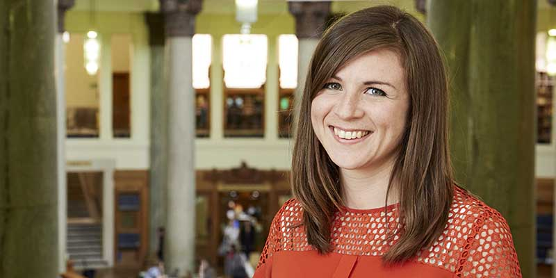 Dr Laura King receives Rising Star Engagement Award