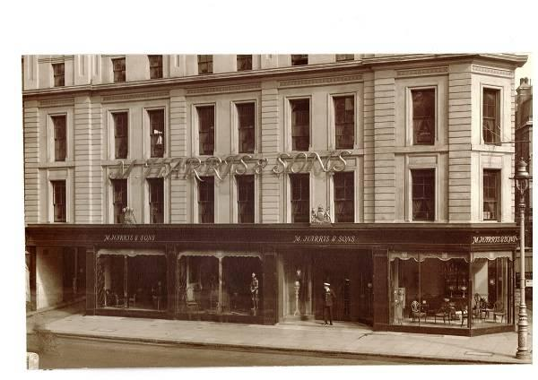 M. Harris & Sons, New Oxford Street, London, c.1935. Image courtesy of John Hill.