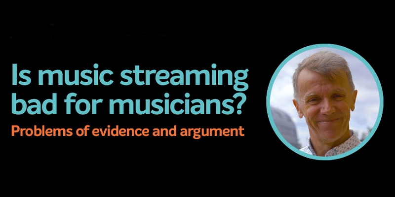 Is music streaming bad for musicians?