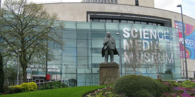 Photograph of the National Science and Media Museum in Bradford