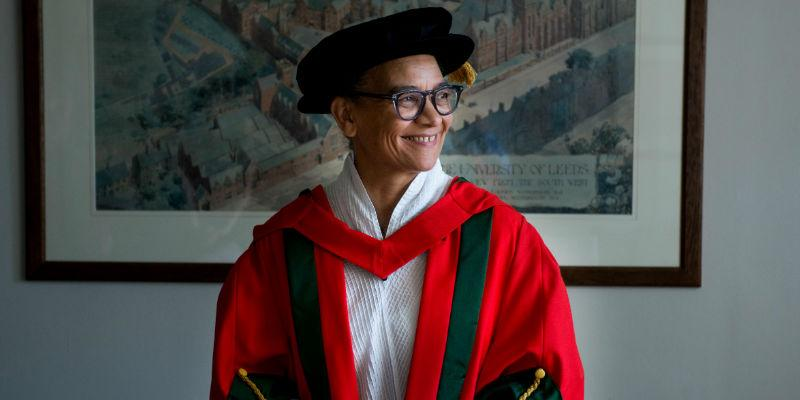 Professor Lubaina Himid awarded an honorary degree from the University of Leeds