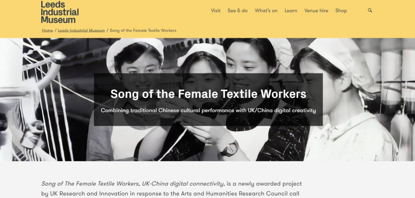 Opera project finds common threads between textile workers a world apart
