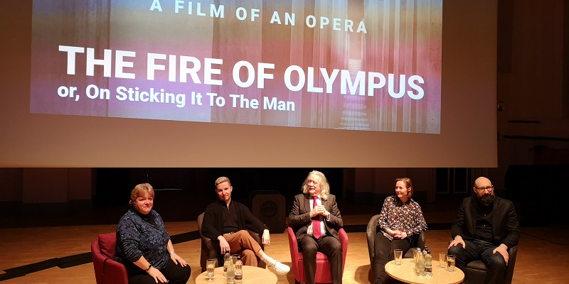 The Fire of Olympus film premiere success
