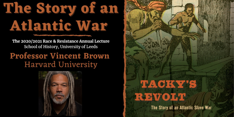 "Watch the Race and Resistance Annual Lecture, ""The Story of an Atlantic War"""