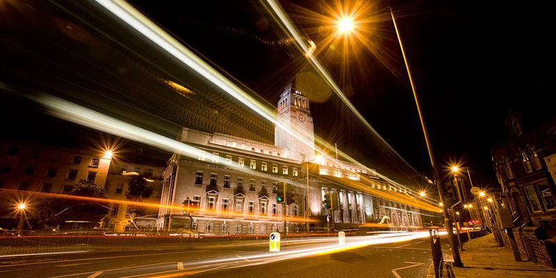 Photo of Parkinson Building, University of Leeds