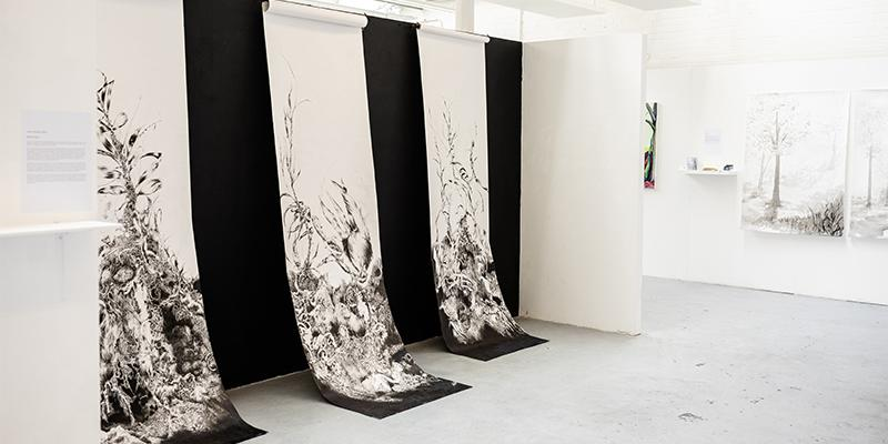 Success in FUAM Graduate Art Prize.