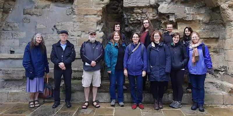 Students and staff from the IMS on trip to Knaresborough