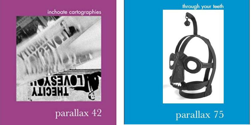 Associate editor for parallax journal: deadline 9 June
