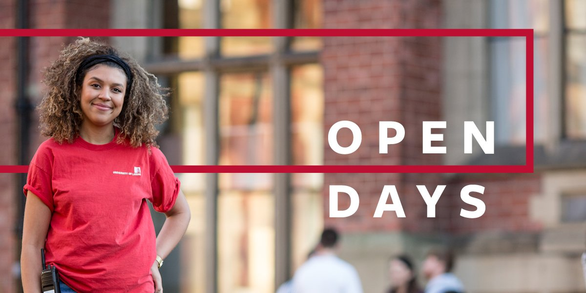 Undergraduate open day 2019