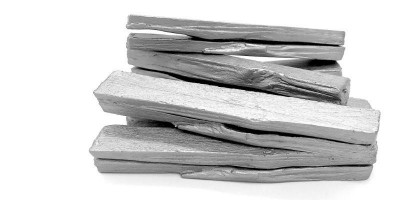 Natural State - silver ingots (a small make). Image courtesy of Lorna Johnson.