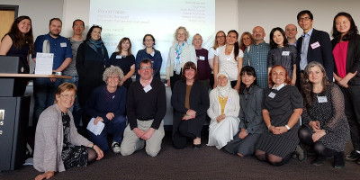 Speakers and participants at the second Year Abroad Conference.