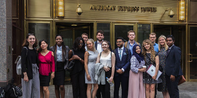 Leeds to New York student leadership programme