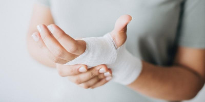 Picture of wound dressing