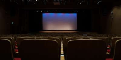 An empty film theatre