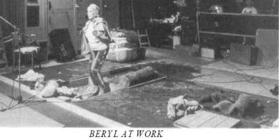 Beryl Mortimer at work