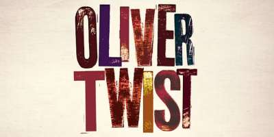 Oliver Twist text graphic