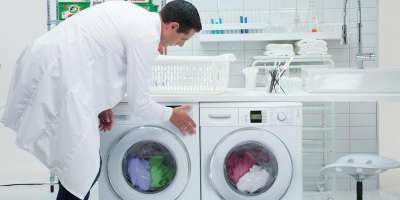 Washing machines in laboratory