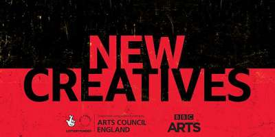New creatives logo black and red