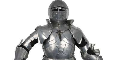 Medieval Knight armour from Royal Armouries