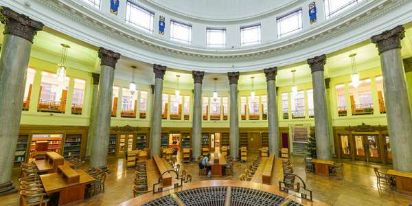 Brotherton library reading room