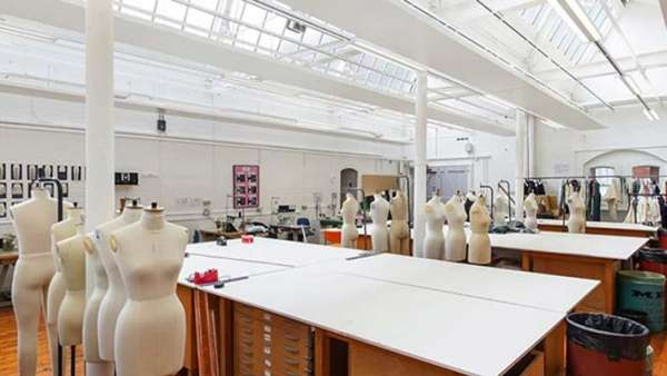 Fashion studio in the School of Design