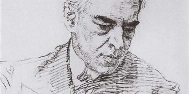 Stanislavsky portrait drawing