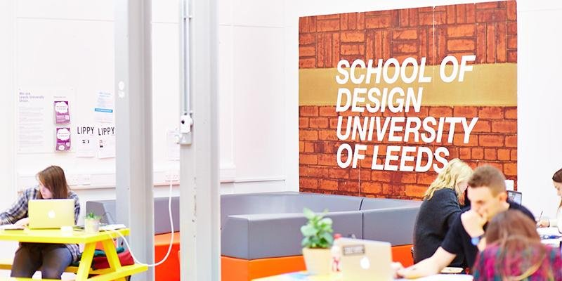 Common room for students in the School of Design